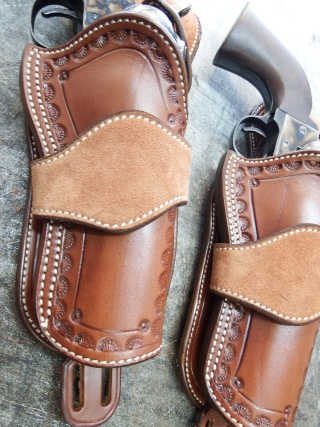 """COWBOY ACTION SHOOTING """"ROUGH OUT"""" HOLSTER by SLYE Dscf2858"""