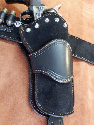 """COWBOY ACTION SHOOTING """"ROUGH OUT"""" HOLSTER by SLYE Dscf2949"""