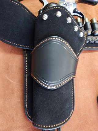 """COWBOY ACTION SHOOTING """"ROUGH OUT"""" HOLSTER by SLYE Dscf2950"""