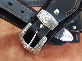 """COWBOY ACTION SHOOTING """"ROUGH OUT"""" HOLSTER by SLYE Dscf2953"""