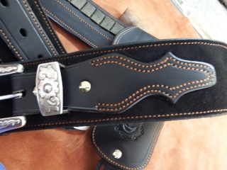 """COWBOY ACTION SHOOTING """"ROUGH OUT"""" HOLSTER by SLYE Dscf2954"""