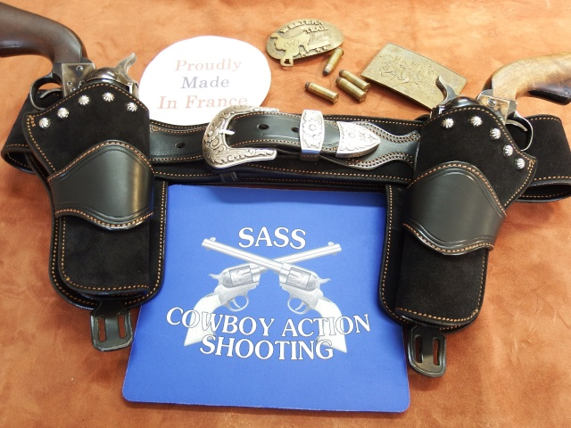 """COWBOY ACTION SHOOTING """"ROUGH OUT"""" HOLSTER by SLYE Dscf2956"""