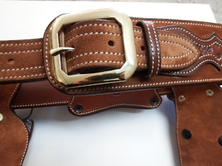 """COWBOY ACTION SHOOTING """"ROUGH OUT"""" HOLSTER by SLYE Dscf2961"""