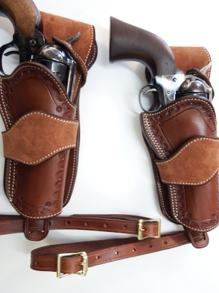 """COWBOY ACTION SHOOTING """"ROUGH OUT"""" HOLSTER by SLYE Dscf2962"""