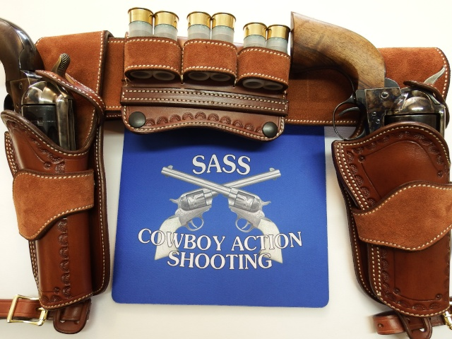 """COWBOY ACTION SHOOTING """"ROUGH OUT"""" HOLSTER by SLYE Dscf2963"""