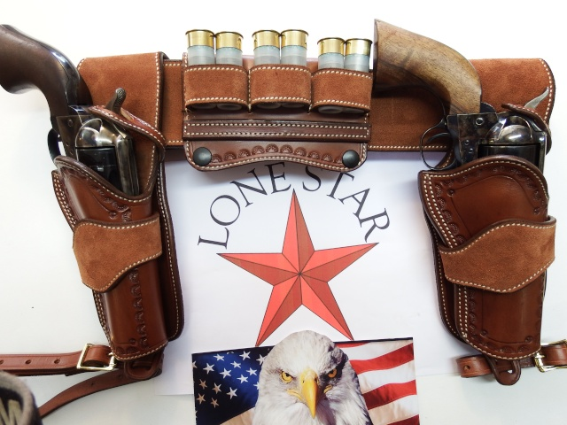 """COWBOY ACTION SHOOTING """"ROUGH OUT"""" HOLSTER by SLYE Dscf2964"""