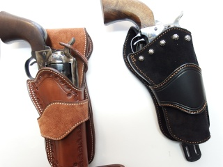 """COWBOY ACTION SHOOTING """"ROUGH OUT"""" HOLSTER by SLYE Dscf2965"""