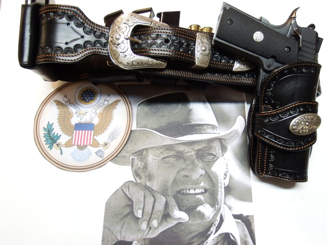 """ WILD BUNCH ""holster ""RANGER'S"" by SLYE  Dscf3041"
