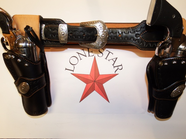 """COWBOY ACTION SHOOTING """"ROUGH OUT"""" HOLSTER by SLYE Lone_s11"""