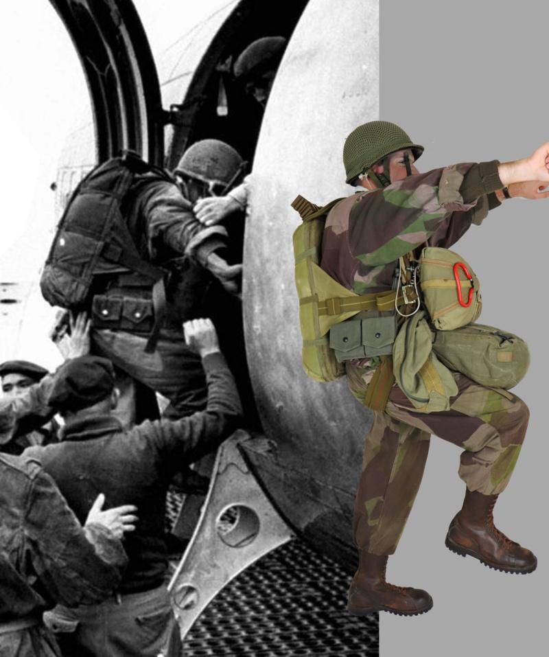 """Le """"bataillon Bigeard"""" est de retour dans la cuvette - 16 mars 1954 16mars11"""