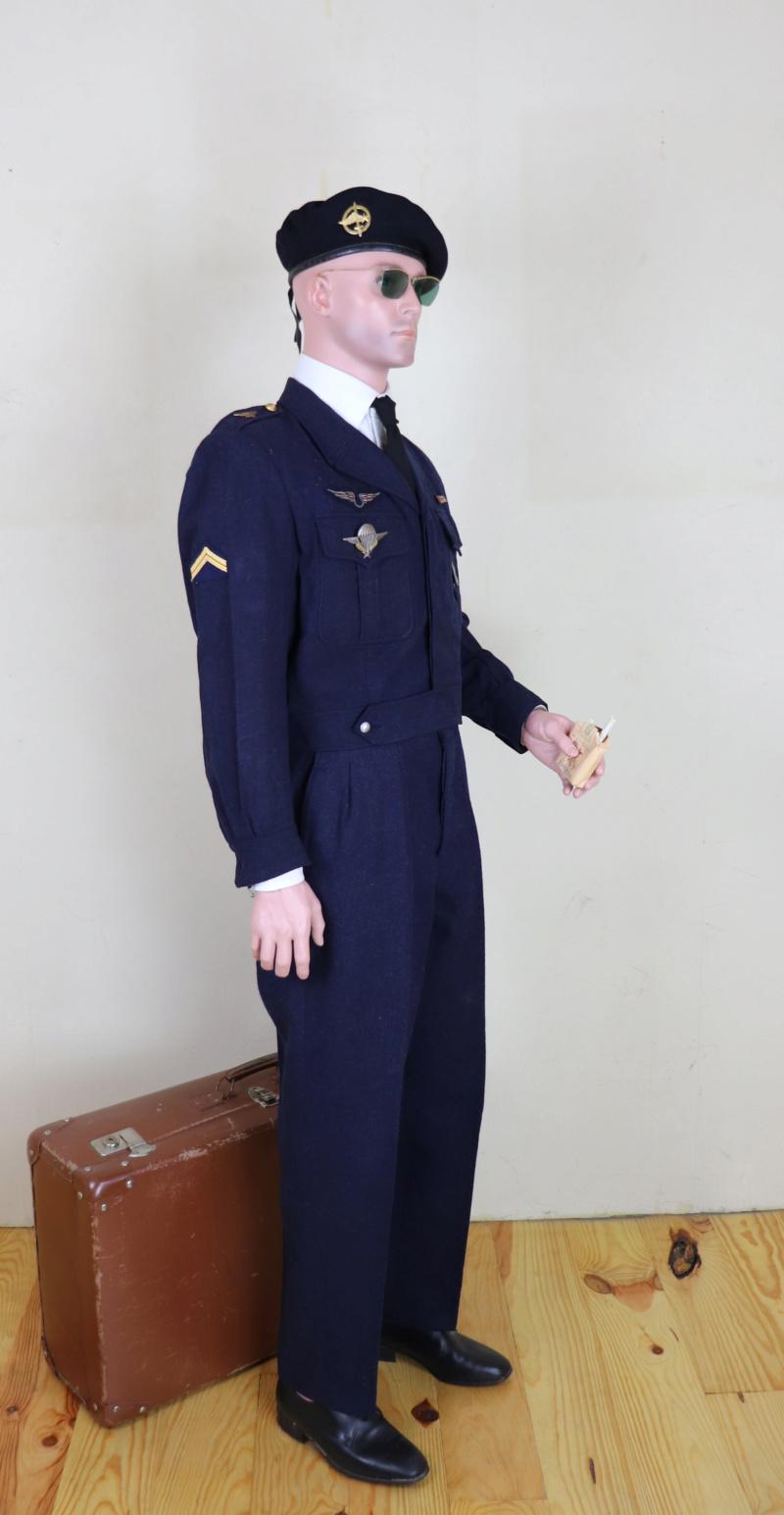 Sergent au CPA 20/541 en permission, décembre 1960 Cpaper14
