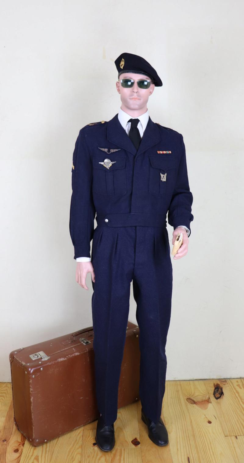 Sergent au CPA 20/541 en permission, décembre 1960 Cpaper15