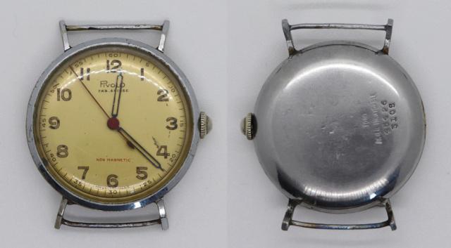 Les montres civiles utilisées par les militaires français, 1943-1962 Montre18