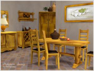 Кухни, столовые (деревенский стиль) Image222