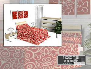 Спальни, кровати (модерн) - Страница 23 Image449