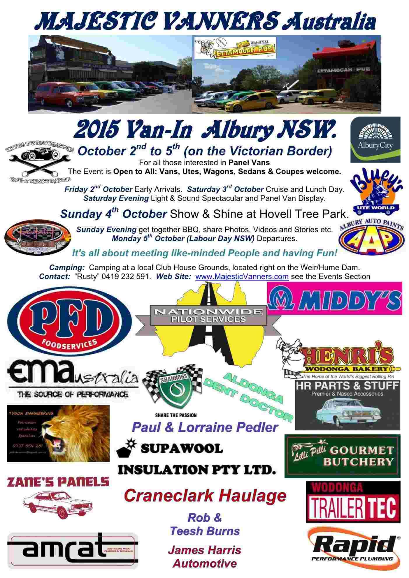 2015 Van-In Albury/Wodonga: 2nd-5th October. 2015_f11