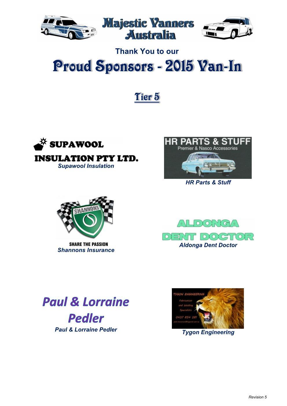 2015 Van-In Albury/Wodonga: 2nd-5th October. 2015_v21