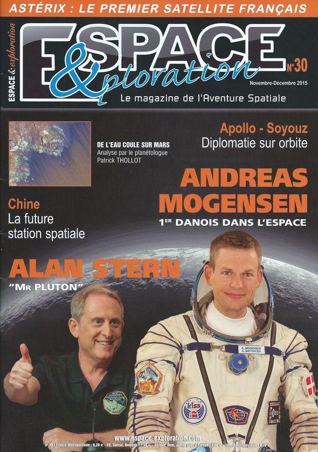Espace & Exploration n°30: Andreas Mogensen - 1er Danois 15110010