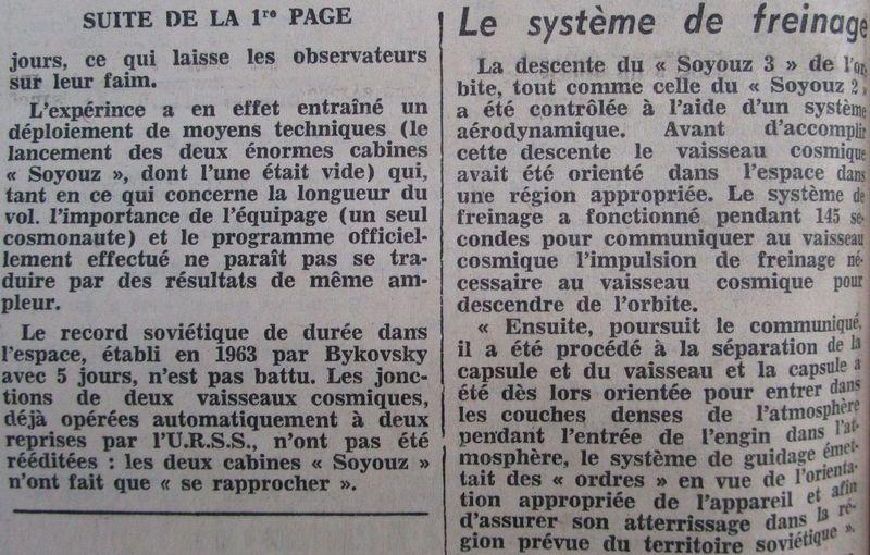 26 octobre 1968 - Soyouz 3 - Gheorghui Beregovoï 68103112