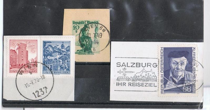 Die Poststempel von Wien Wienst10