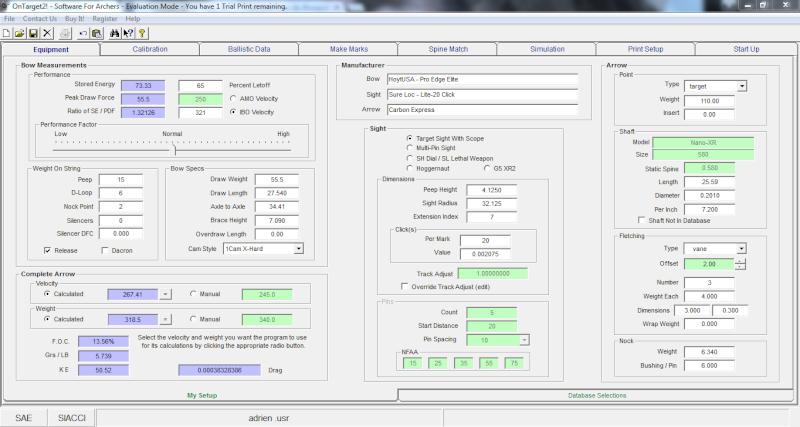 """OT2 """"pour les nuls"""", tutoriel du logiciel On Target 2 (SFA) - Page 9 Config11"""