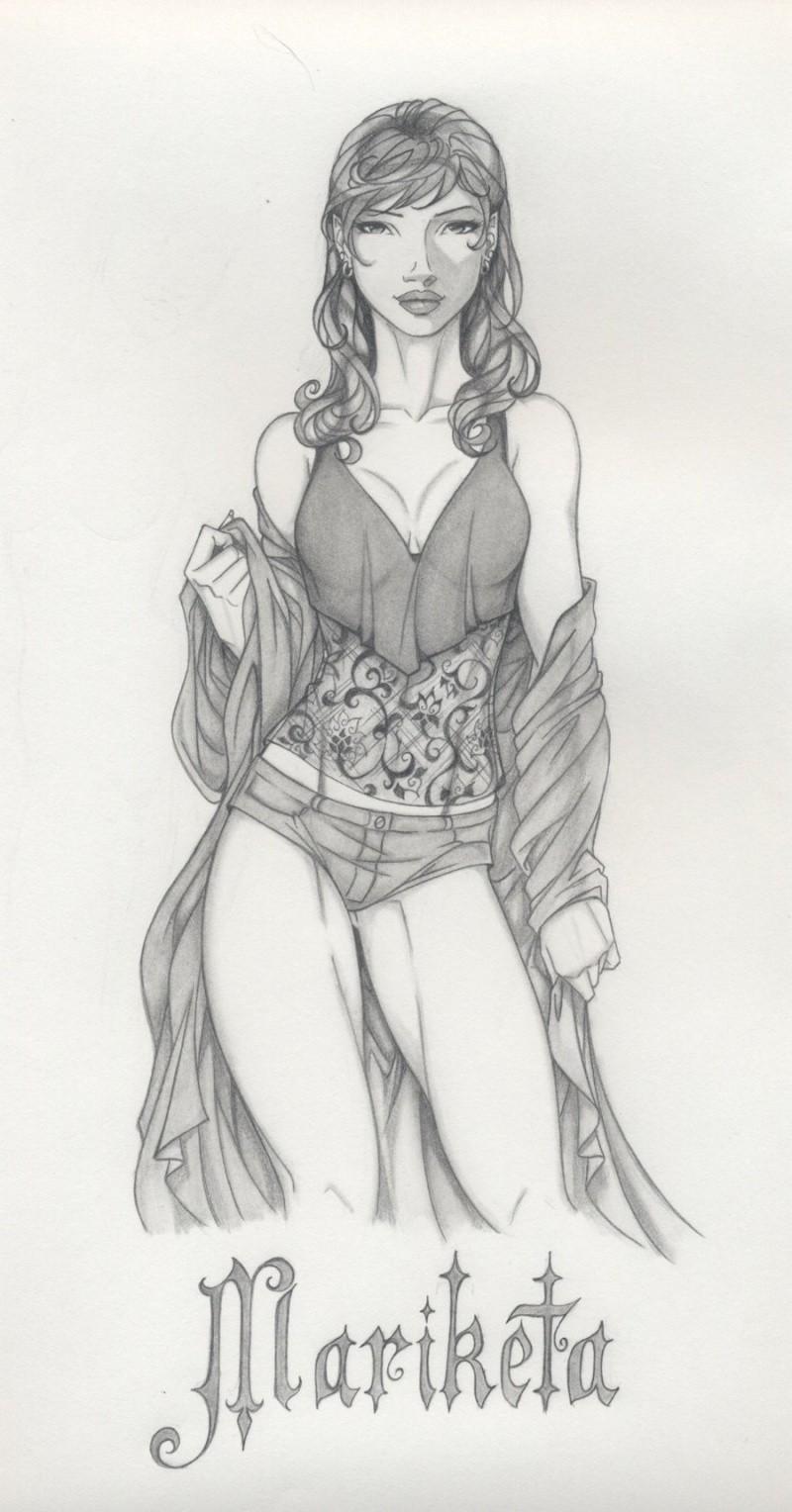 Images / Fan art / etc... Marike10