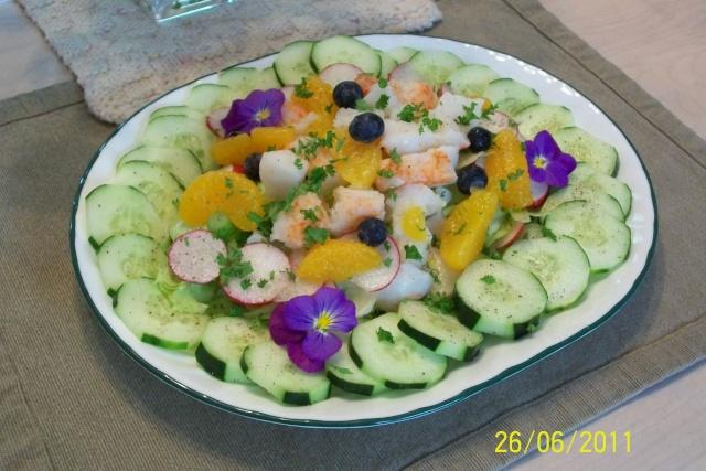 Salade du bonhomme II et vinaigrette clone de Kraft 3_juin25