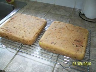 Gâteau réussite aux carottes  T110