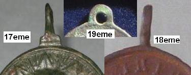 Médaille  Saint Juan Nepomuceno. XVII èm Les_by10