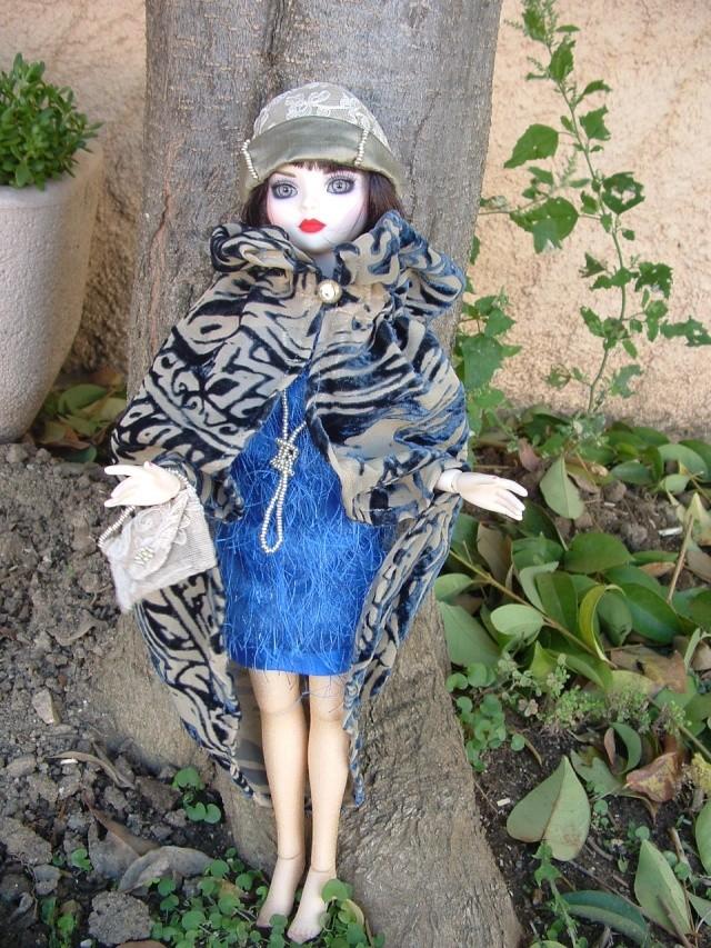 La nouvelle tenue de Miss Fisher (Ello résine de Léonie) Dscf0047