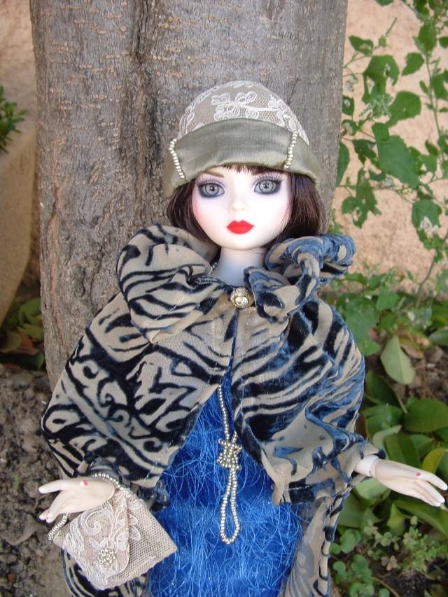 La nouvelle tenue de Miss Fisher (Ello résine de Léonie) Dscf0049