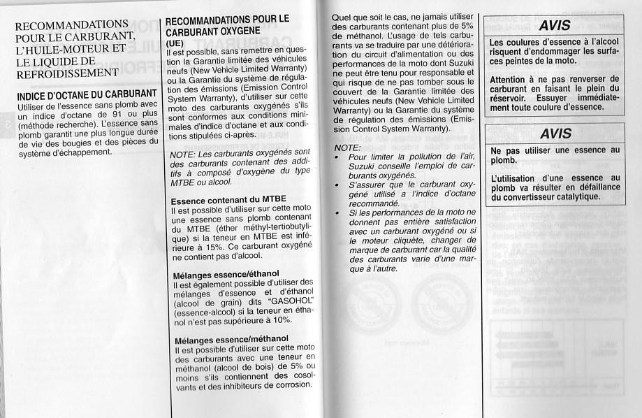 Carburant dans le GSR : SP95/SP98/SP95E10 ??? - Page 15 Essenc10