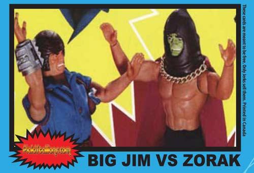 Card da collezione di big jim Bigjim11