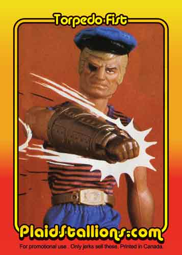 Card da collezione di big jim Torped10