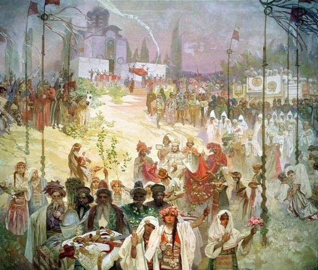 L'EPOPEE SLAVE DE MUCHA Mucha_16