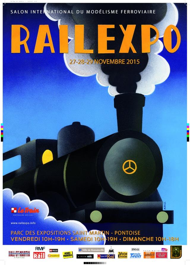 Rail expo Cergy Pontoise du 27 au 29 Novembre 2015 Affich17