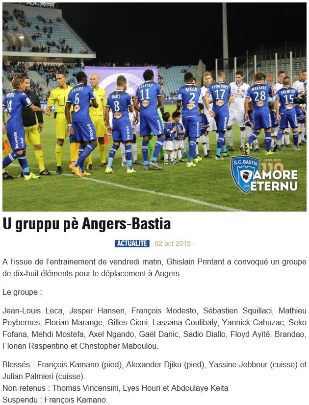 J9 / Jeu des pronos - Prono Angers-Bastia S56