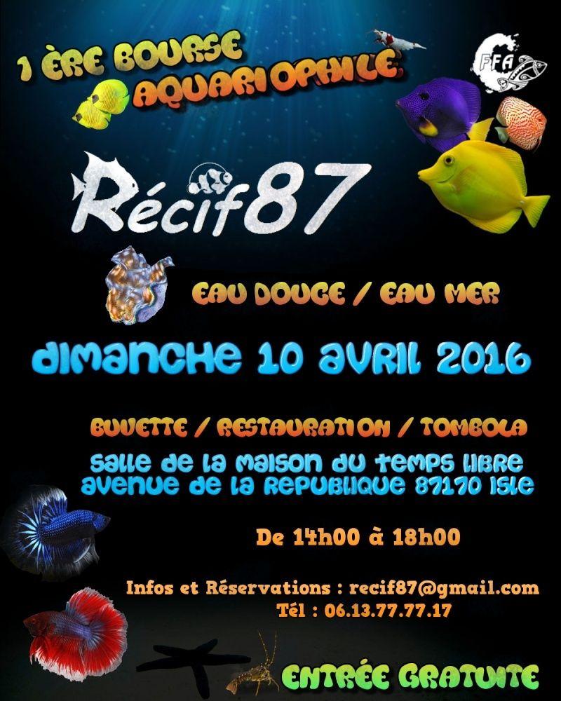 1ère Bourse Recif87 Affich10