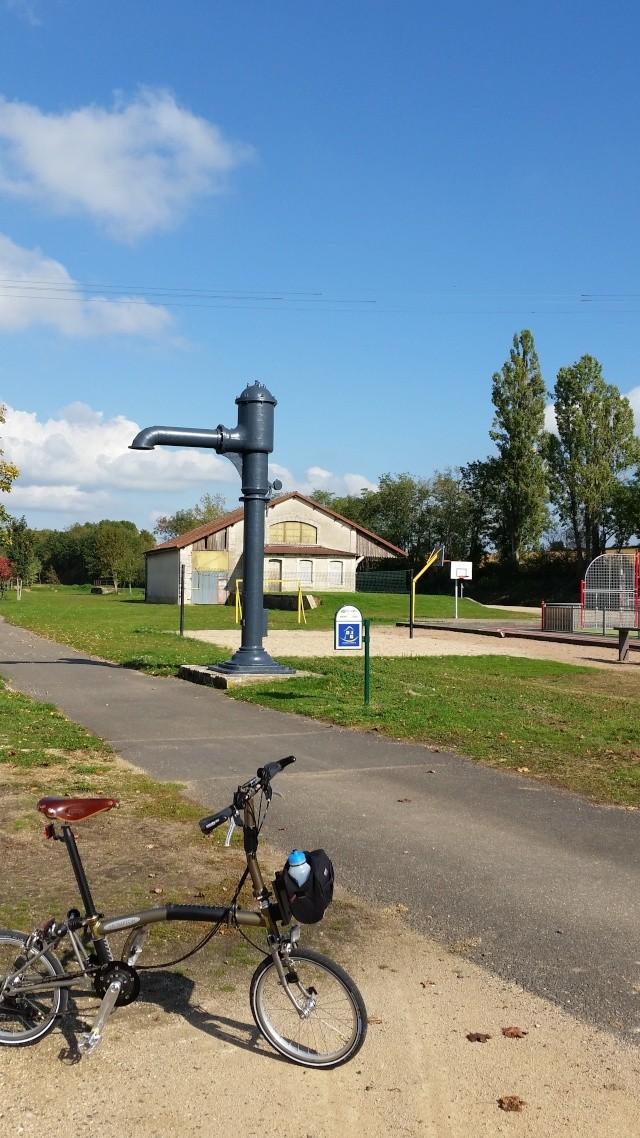 Mâcon à St-Léger-sur-Dheune ou Nolay par une voie verte [itinéraire] 20151011