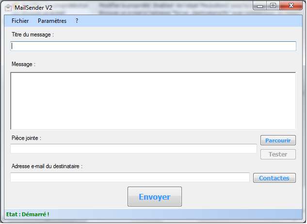 MailSender V2.5 Mise à jour -> V2.5.8.0 Sz210