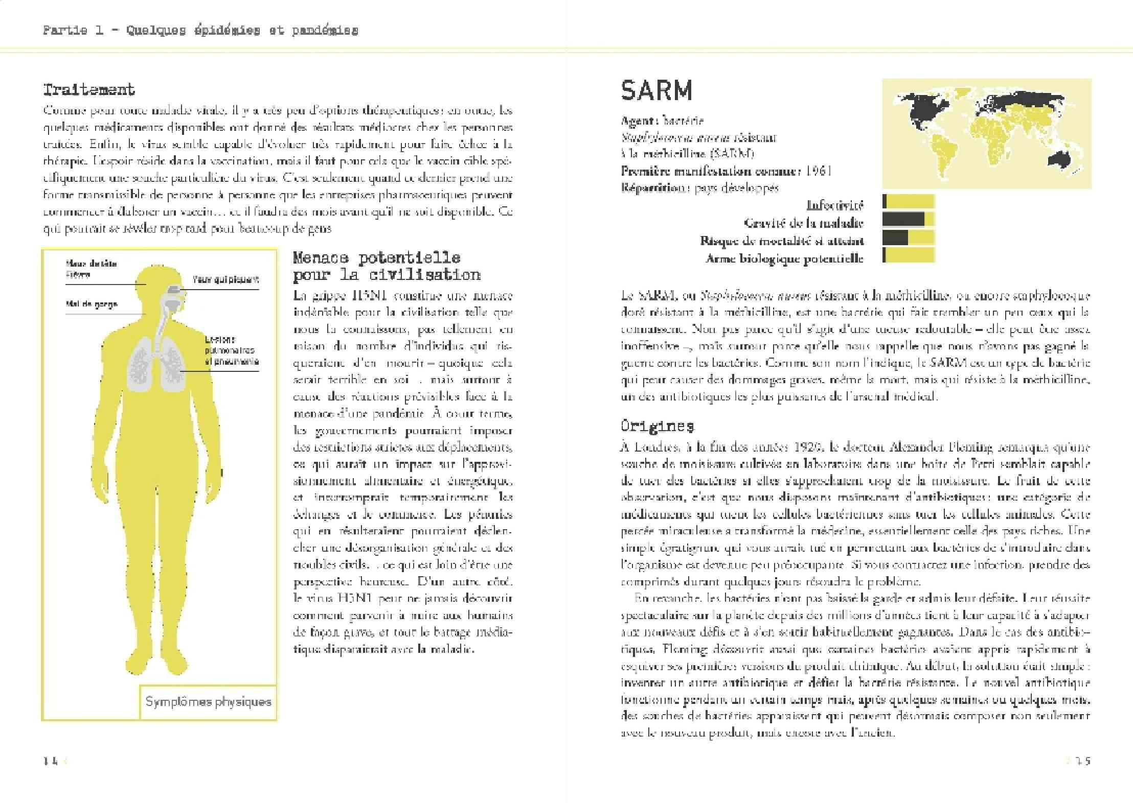 [Littérature scientifique] Le Petit livre des grandes épidémies. Page210