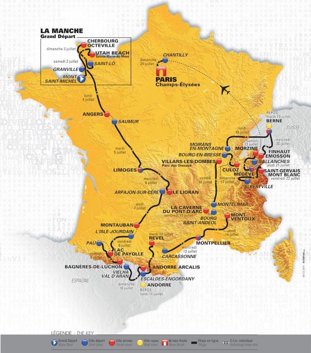 Tour de France  Parcou10