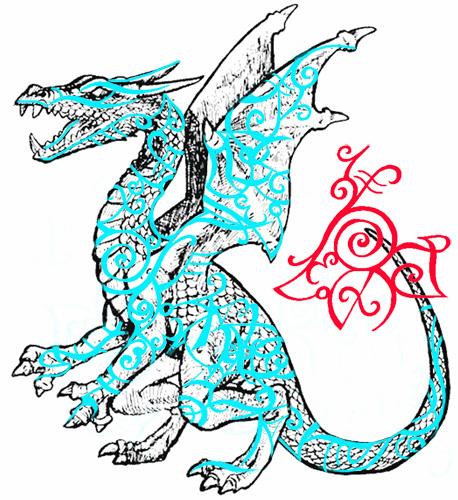 [INAUG] Le Berceau de Yule - Page 3 Dragon10
