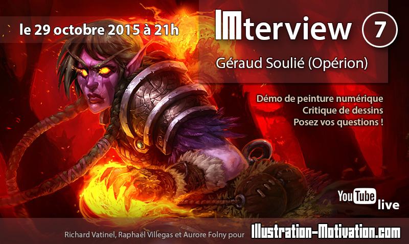 """[im] IMterview #7 : Géraud """"Operion"""" Soulié Imterv10"""