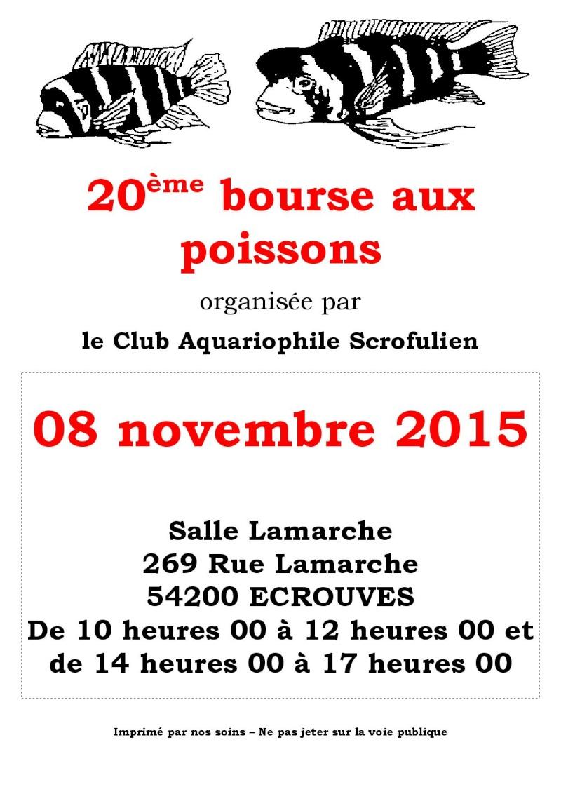 Bourse à Ecrouves (54) - 08 novembre 2015  Affich10