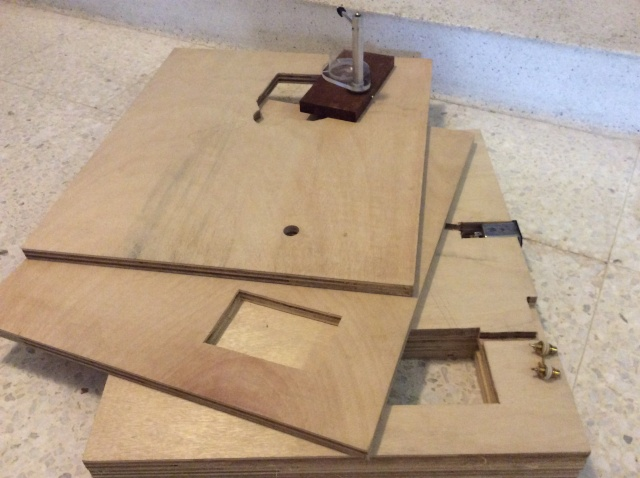 Lenco turntable project - 29/06/16 more progress Image-10