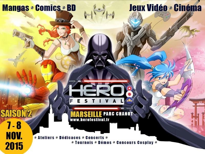 Héro Festival 7 et 8 Novembre 2015 Parc Chanot de Marseille Hero-f10