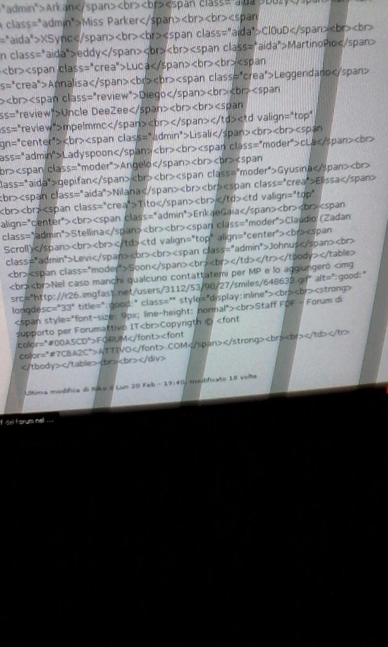 Topic visualizzato come codice html Imgwik12