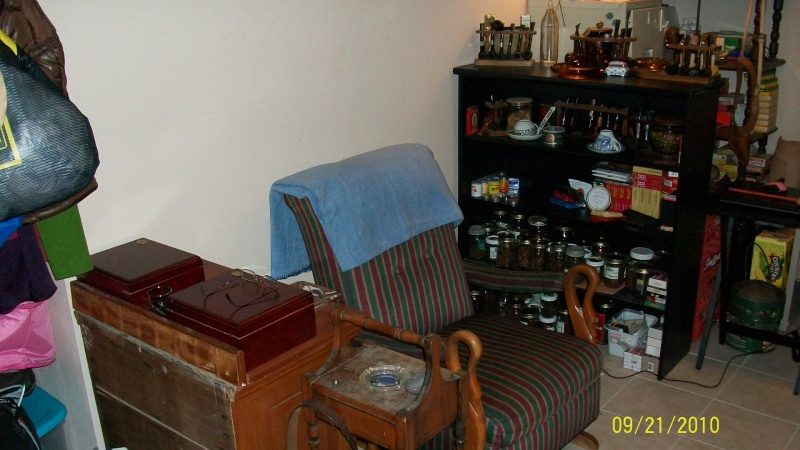 Wanted: Pics of Your Smoking Dens/Man Caves - Page 4 100_0111