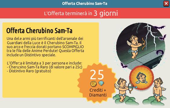 [ALL] Offerta Raro Cherubino Sam-Ta HW15 Scher239
